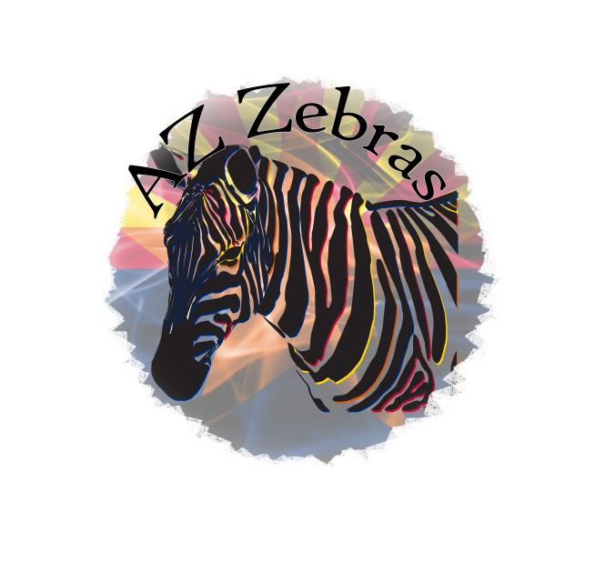 Canvas zebra #1