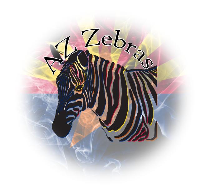 Canvas zebra #2