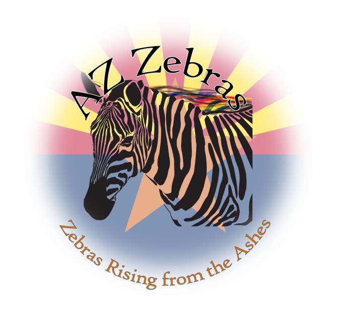 Canvas zebra #5