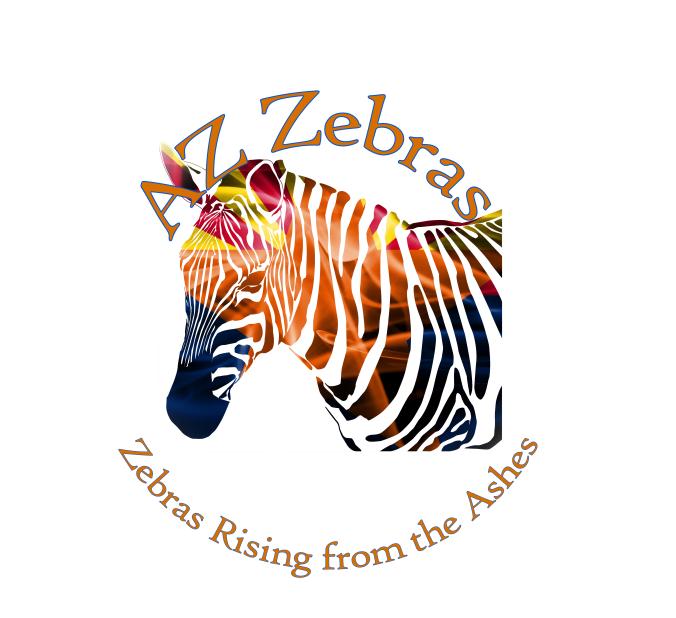 Canvas zebra #6